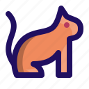 animal, cat, kitten, kitty, pet icon