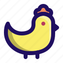 animal, chick, chicken, fowl, poultry icon