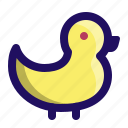 animal, bath, bird, duck, pond, rubber icon