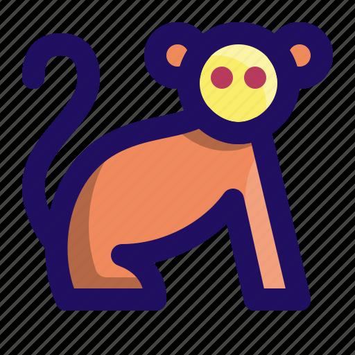 animal, ape, chimp, monkey, primate icon