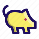 animal, barn, farm, hog, pig, piggy, pork icon