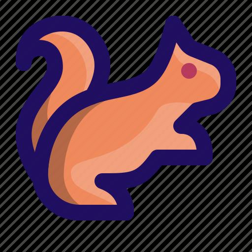 animal, chipmunk, marmot, rodent, squirrel icon