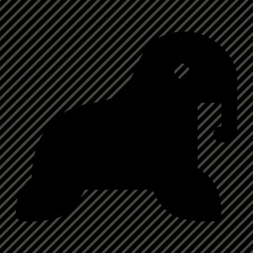 animal, mammal, marine, sea, walrus icon