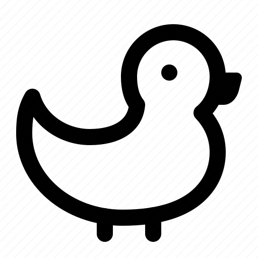 animal, bath, bird, duck, pond, rubber icon