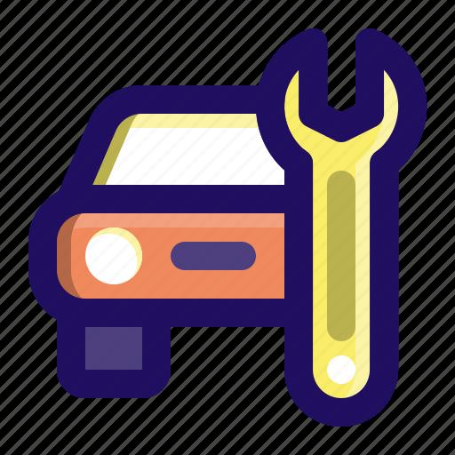car, fix, maintenance, repair, service, vehicle icon