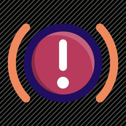 Brake, car, indicator, light, parking, warning icon - Download on Iconfinder