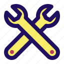 adjust, fix, repair, settings, tool, wrench icon