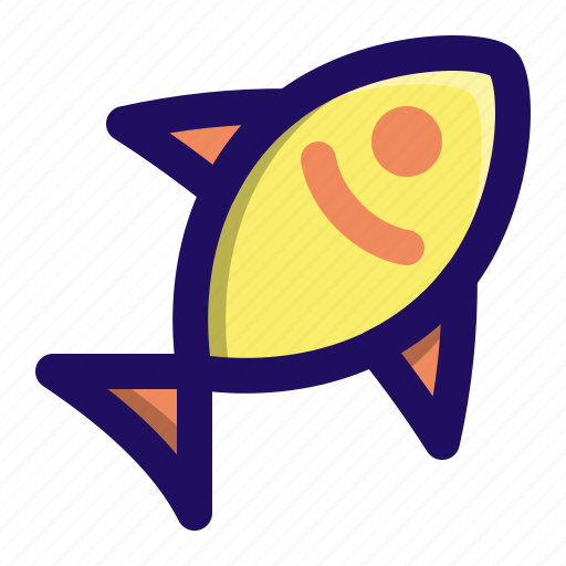 Animal, fish, food, sea, seafood, water icon - Download on Iconfinder