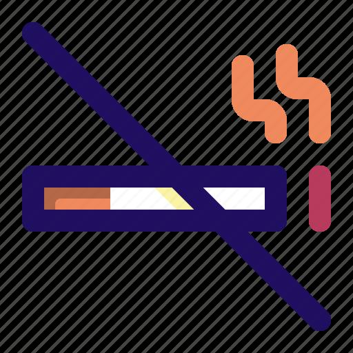 Cigarette, no, smoke, smoking, tobacco icon - Download on Iconfinder