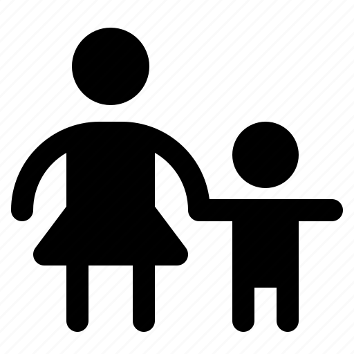 Boy, family, kid, mother, son, woman icon - Download on Iconfinder