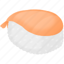 chinese, food, japan, junk food, rice, shrimp, sushi icon