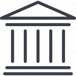building, construction, house, jurisprudence icon