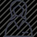 jurisprudence, female, avatar, woman