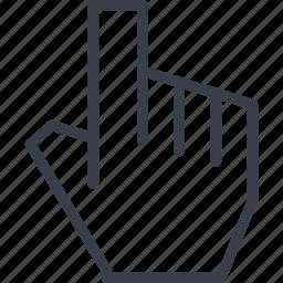 arm, fingers, fist, jurisprudence icon