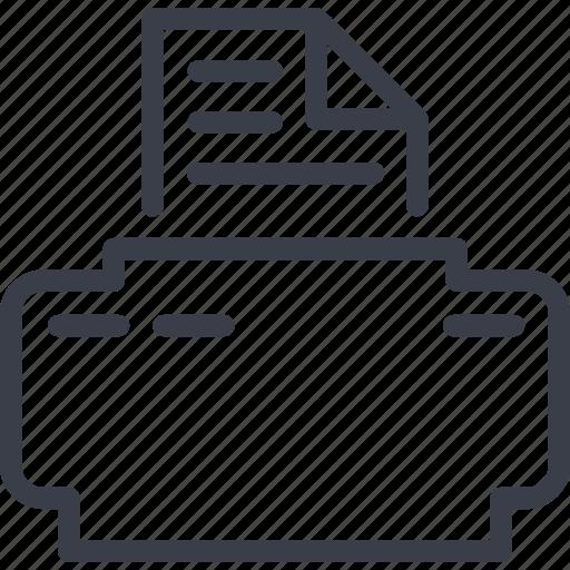 copy, document, jurisprudence, printer, xerox icon