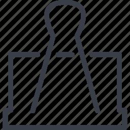 binding, clip, jurisprudence, paper icon