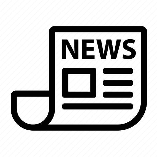 news, newspaper, paper, subscribe icon