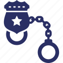 manacles, police handcuffs, raistrant device, restrainers, shackles icon