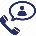 calling, communication, connection, contact, phone call icon