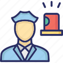 cop, police agent, police employee, police officer, policeman icon