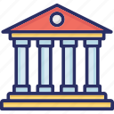 court, courthouse, judicial branch, supreme court, supreme court building icon