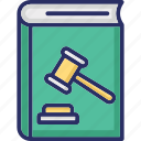 law book, law book online, law record, legal encyclopedia, police law book icon