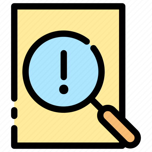 court, detective, evidence, investigation icon