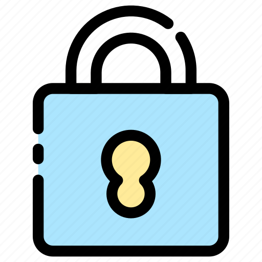 Lock, padlock, protection icon - Download on Iconfinder