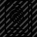 fingerprint identification, fingerprints, forensic science, identification of person, thumb impression icon