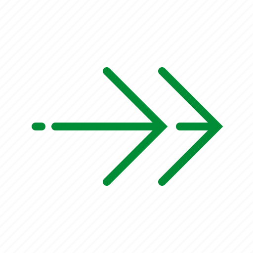 arrow, direction, east, forward, next, right icon