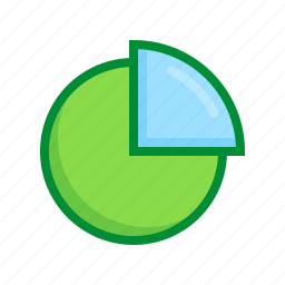 chart, diagram, graph, pie, report, statistics icon