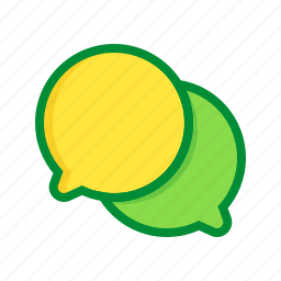 chat, communication, dialogue, message, talk icon