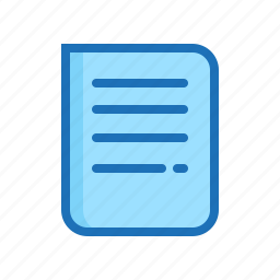 document, documents, file, format, note, paper, report icon