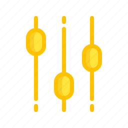configuration, control, equalizer, options, setting, settings icon