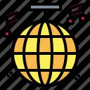 ball, birthday, club, disco, party icon
