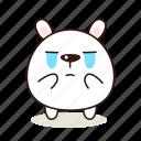 crying, animals, pet, character, kawaii