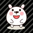 happy, animals, pet, character, kawaii