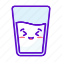milk, food, cute, kawaii icon