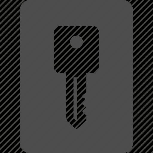 access, card, hotel, key, keycard, office icon