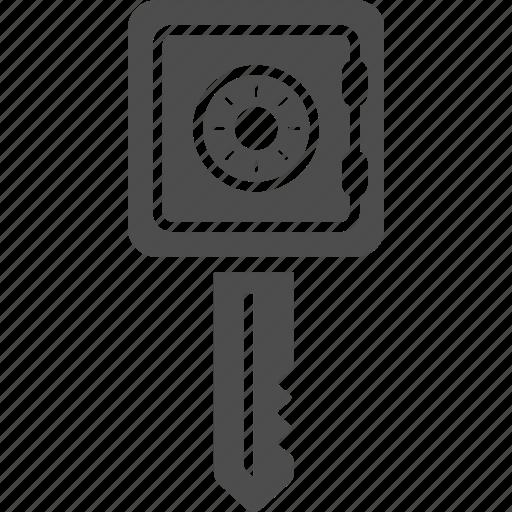 deposite, key, money, safe icon