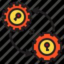 gear, key, data, save, service
