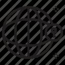 key, lock, save, world icon