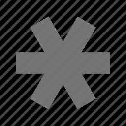 asterisk icon