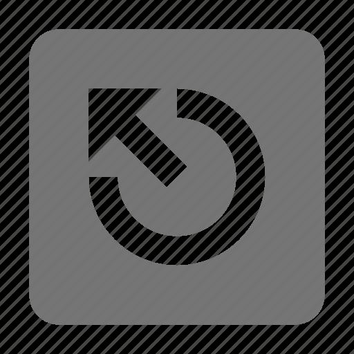 arrow, escape key, keyboard icon