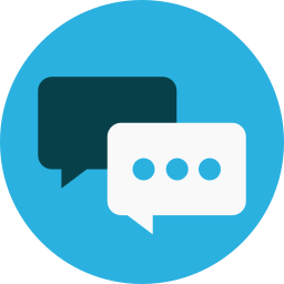 chat, keynote, messages icon