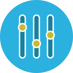 keynote, parameters icon