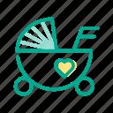 baby, carriage, children, infant, kids, newborn, toddler