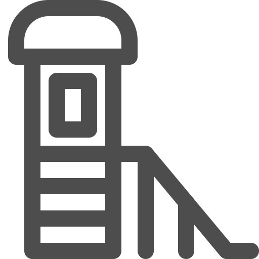 equipment, kid, playground, slide, stair, toy icon