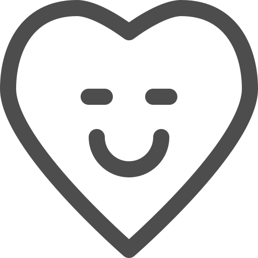 happy, heart, kid, smile, toy icon
