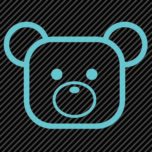 babies, baby, bear, children, cute, kids, small, teddy, teddy bear, toy icon